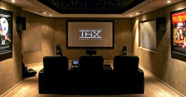 Home Theater Three Seats