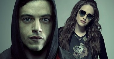 Rami Malek Carly Chaikin Mr Robot