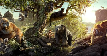 The Jungle Book Movie Banner