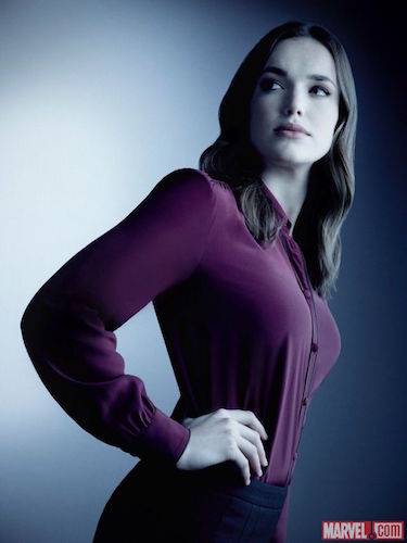Elizabeth Henstridge Agents of SHIELD Season Four Photo