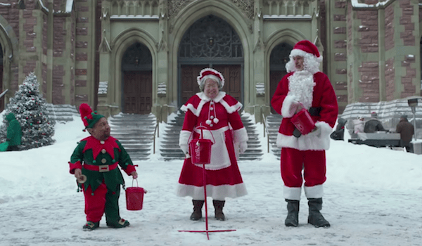 Billy Bob Thornton Tony Cox Kathy Bates Bad Santa 2