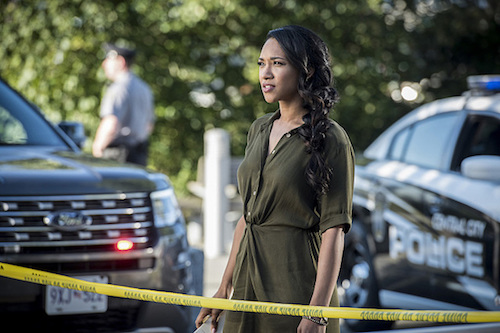 Candice Patton The Paradox The Flash