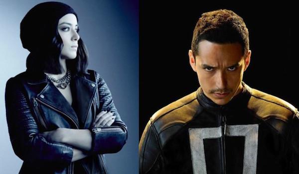 Chloe Bennet Gabriel Luna Agents of SHIELD