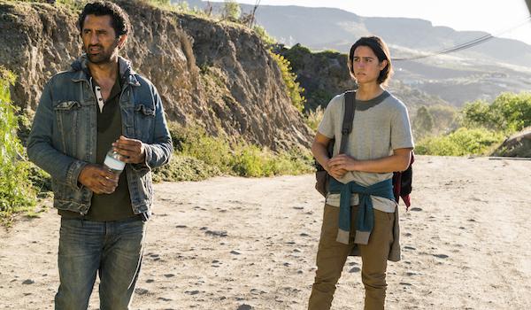 Cliff Curtis Lorenzo James Henrie Do Not Disturb Fear The Walking Dead