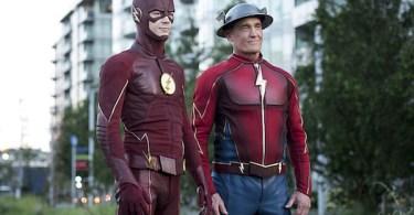 Grant Gustin John Wesley Shipp The Paradox The Flash