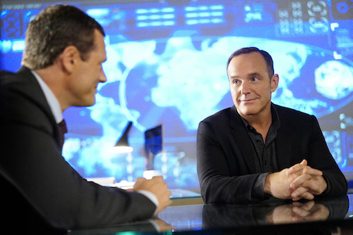 Jason O'Mara Clark Gregg Agents of SHIELD Season Four