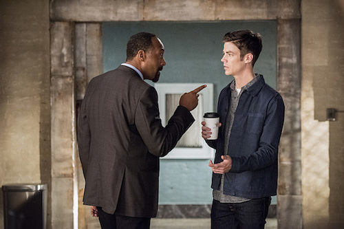 Jesse L. Martin Grant Gustin The Paradox The Flash