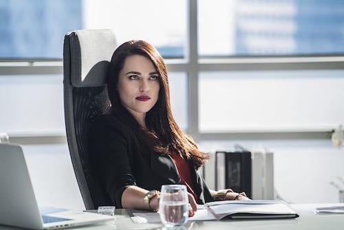 Katie McGrath Supergirl Season Two