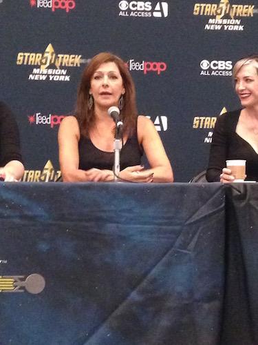 Marina Sirtis The Women of Star Trek Panel