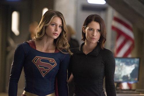 Melissa Benoist Chyler Leigh Supergirl Season Two