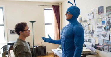 eter Serafinowicz Griffin Newman The Tick