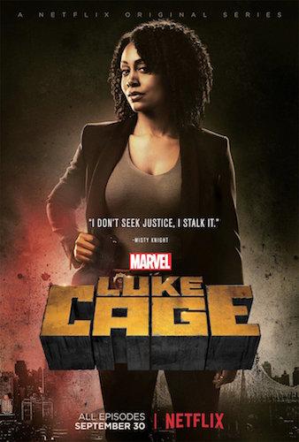 Simone Missick Luke Cage Poster