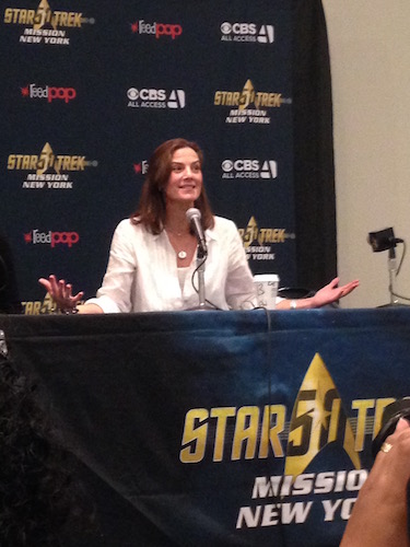 Terry Farrell The Women of Star Trek Panel
