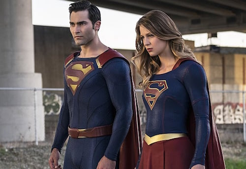 Tyler Hoechlin Melissa Benoist Supergirl Season Two