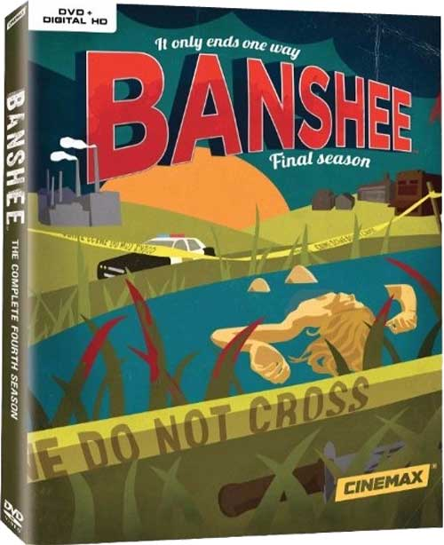 Banshee: Season 4 DVD