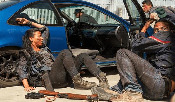 Danay Garcia Frank Dillane Fear the Walking Dead North