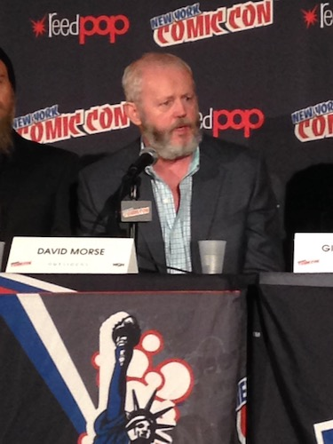 David Morse Outsiders Panel NYCC 2016
