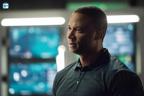 David Ramsey Human Target Arrow