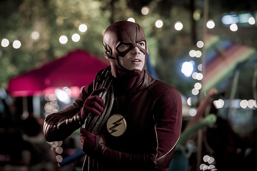 Grant Gustin Monster The Flash