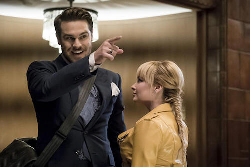 Grey Damon Ashley Rickards The New Rogues The Flash