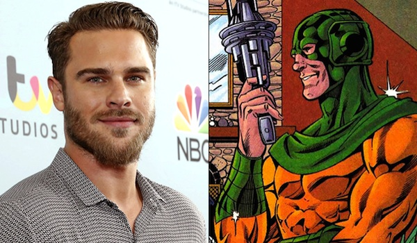 Grey Damon The Flash Comic