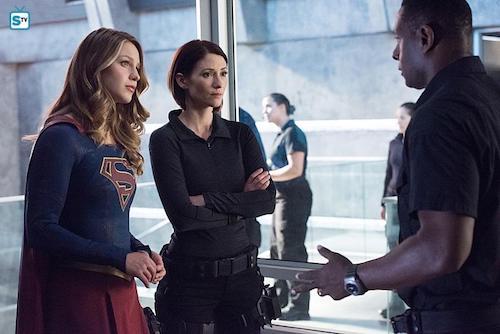 Melissa Benoist Chyler Leigh David Harewood Survivors Supergirl