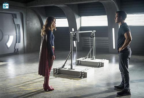 Melissa Benoist Chris Wood Survivors Supergirl