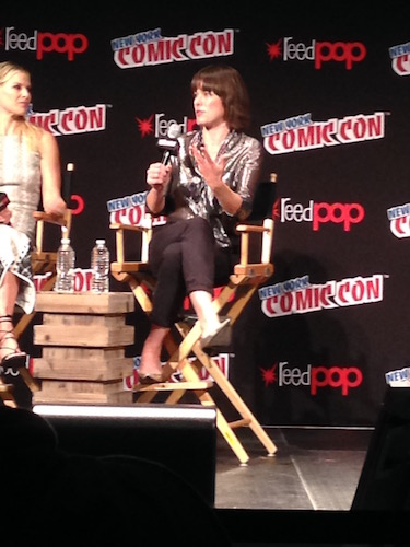 Milla Jovovich Resident Evil: The Final Chapter Panel NYCC 2016