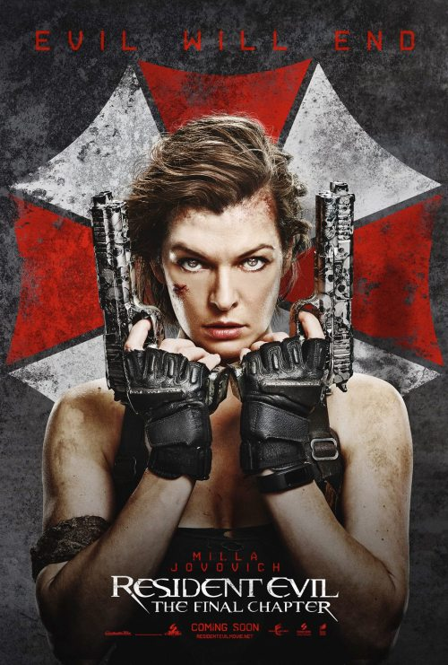 Resident Evil: The Final Chapter International Movie Poster