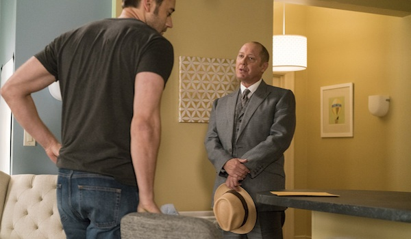 Ryan Eggold James Spader The Blacklist
