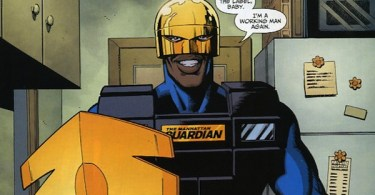 The Guardian Comic Book