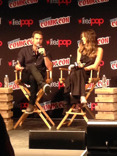 Theo James Kate Beckinsale Underworld Panel