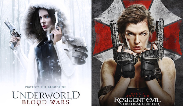 Underworld Blood Wars And Resident Evil The Final Chapter Unveil