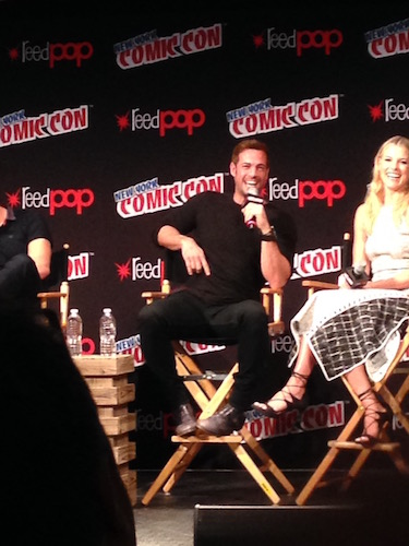William Levy Resident Evil: The Final Chapter Panel NYCC 2016