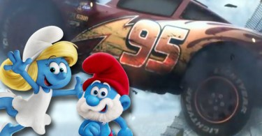 Cars 3 and Smurfs: The Lost Village