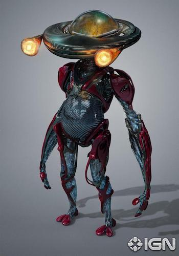 Alpha 5 Power Rangers Concept Art