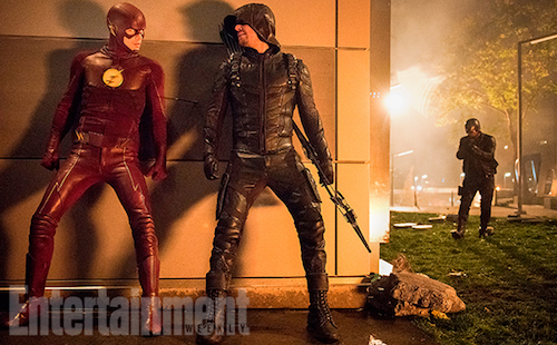 Arrowverse Crossover Photo 2