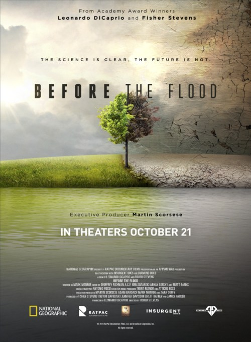 Before the Flood Movie Poster