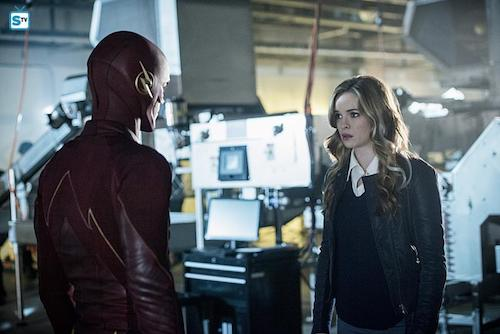 Grant Gustin Danielle Panabaker Killer Frost The Flash
