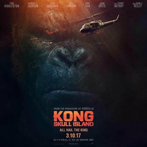 Kong: Skull Island Movie Poster
