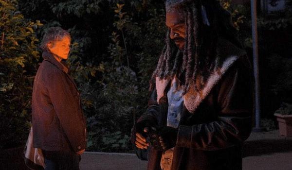 Melissa McBride Khary Payton The Walking Dead The Well