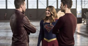 Stephen Amell Melissa Benoist Grant Gustin Invasion The Flash