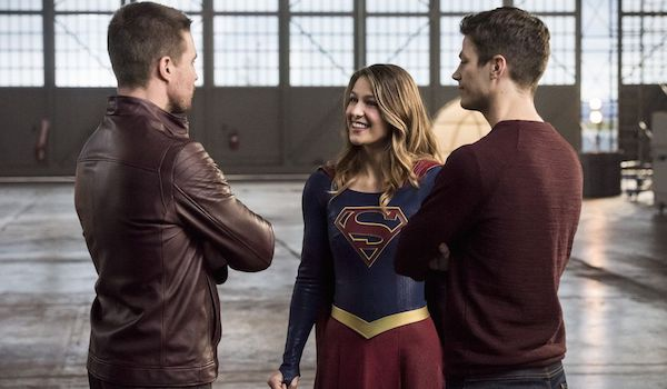Stephen Amell Melissa Benoist Grant Gustin Invasion The Flash