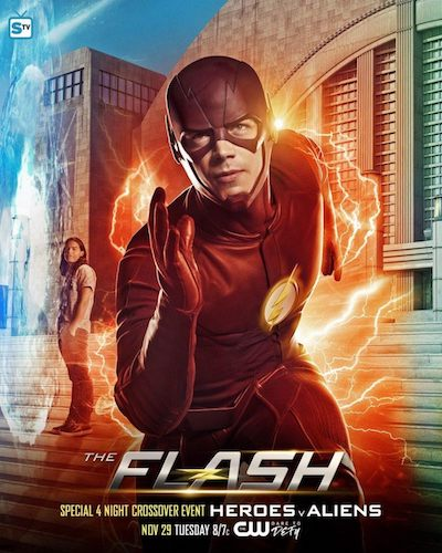 The Flash Crossover Poster