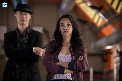 Tom Cavanagh Candice Patton Killer Frost The Flash