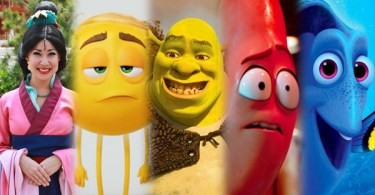 Mulan Emoji Movie Shrek Sausage Party Finding Dory