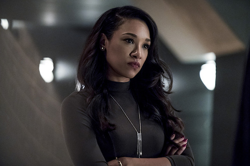 Candice Patton Tom Cavanagh The Present The Flash