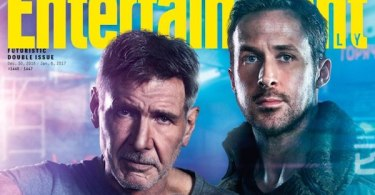 Harrison Ford Ryan Gosling EW Cover Blade Runner 2049
