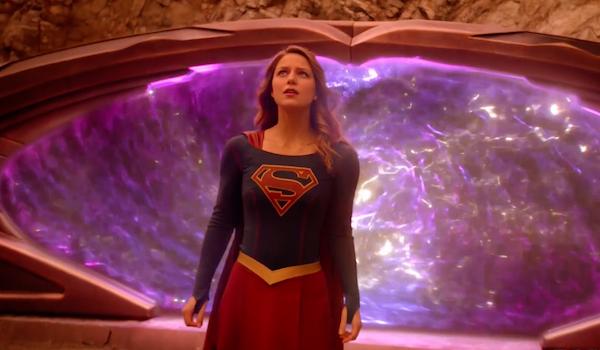 Melissa Benoist Supergirl Lives Trailer