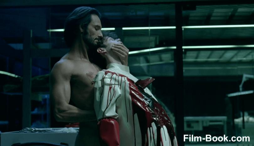 Rodrigo Santoro Stabbing Christopher Gerse Westworld The Bicameral Mind